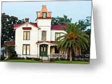 Villa Villekulla The Pippi Longstocking House Amelia Island Florida Greeting Card