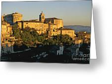 Village De Gordes. Vaucluse. France. Europe Greeting Card