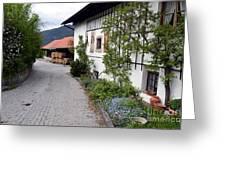 Village In Tyrol Greeting Card