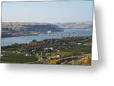 Village Of Maryhill Greeting Card