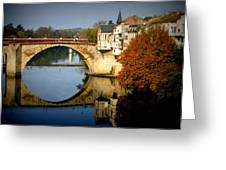 Villeneuve Sur Lot Greeting Card by Georgia Fowler