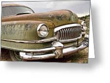 Vintage 1951 Nash Ambassador Front End Greeting Card