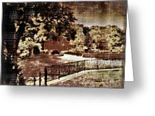 The Red Mill  Bucks County Nj  Greeting Card