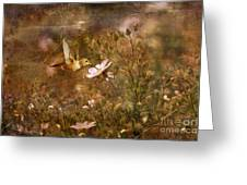 Vintage Beauty In Nature  Greeting Card