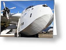 Vintage Boac British Overseas Airways Corporation Speedbird Flying Boat . 7d11255 Greeting Card