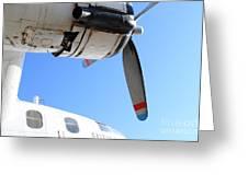 Vintage Boac British Overseas Airways Corporation Speedbird Flying Boat . 7d11270 Greeting Card