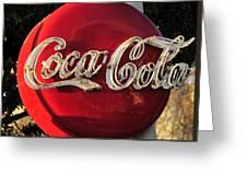 Vintage Coke Greeting Card