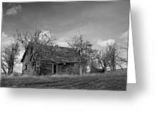 Vintage Farm House Greeting Card