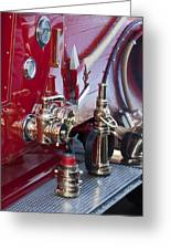 Vintage Fire Truck 1 Greeting Card
