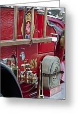 Vintage Fire Truck 2 Greeting Card