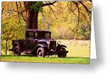 Vintage Ford  Greeting Card