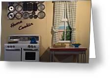 Vintage Kitchen 1 Greeting Card