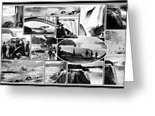 Vintage Niagara Falls Greeting Card