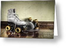 Vintage Roller Skates  Greeting Card