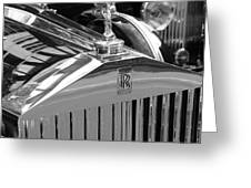 Vintage Rolls Royce 2 Greeting Card