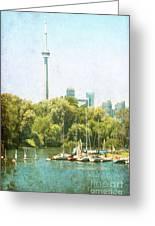 Vintage Toronto Greeting Card