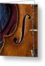 Violin Composition Greeting Card