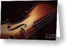 Violin Greeting Card