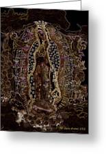 Virgin Of Guadalupe 3 Greeting Card
