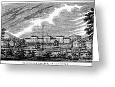 Virginia: College, 1856 Greeting Card
