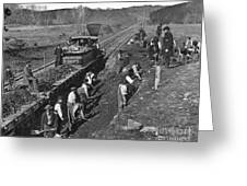 Virginia: Railroad, C1861 Greeting Card
