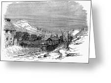 Virginia: Salt Mine, 1857 Greeting Card