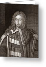 Viscount Bolingbroke, English Statesman Greeting Card