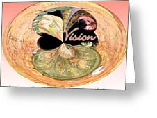 Visionary Artist Greeting Card by Laurence Oliver