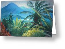 Visions Of Hawaii Greeting Card