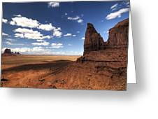 Visions Of Monument Valley  Greeting Card