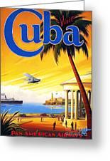 Visit Cuba Greeting Card