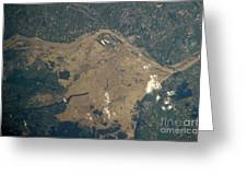 Vistula River Flooding, Southeastern Greeting Card by NASA/Science Source