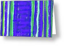 Visual Cadence Xiv Greeting Card