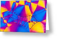 Vitamin B6 Crystal Greeting Card