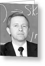 Vladimir Platonov, Soviet Mathematician Greeting Card