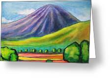 Volcan Mombacho Nicaragua Greeting Card