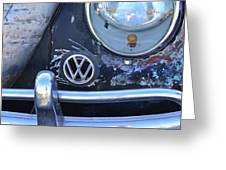 Volkswagen Vw Emblem Greeting Card