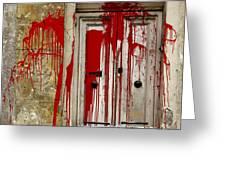Voodoo Greeting Card by Christo Christov