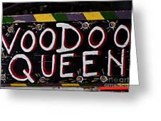 Voodoo Queen Greeting Card
