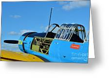 Vultee Bt-13 Valiant  Greeting Card by Lynda Dawson-Youngclaus