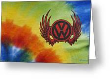 Vw Club Logo Greeting Card