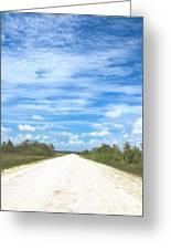 Wagon Wheel Road - 4 Greeting Card