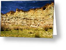 Wahweap Cliff Greeting Card