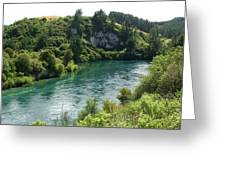 Waikato River Greeting Card
