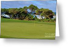 Wailua Golf Course - Hole 17 - 3 Greeting Card