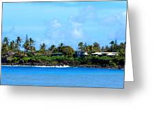 Waimea Bay Greeting Card