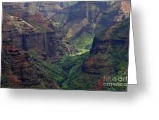 Waimea Canyon 2 Greeting Card
