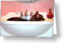 Waiting For Water Greeting Card