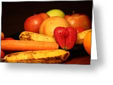 Wake Up - Fruit Is In The Air Greeting Card