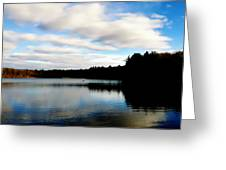 Walden Pond Reverie  Greeting Card